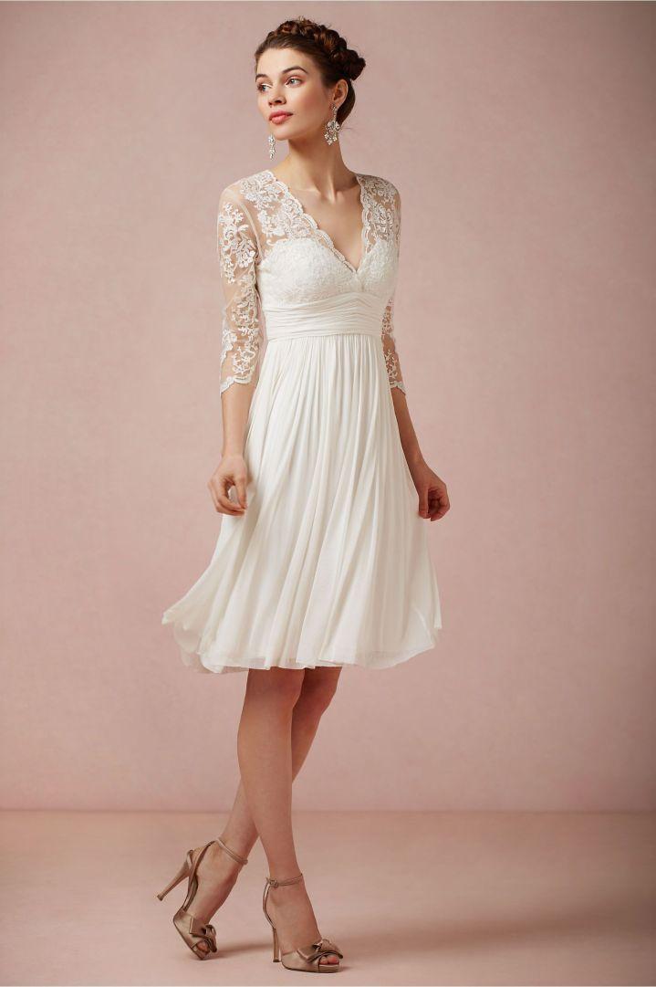 Peinados Recogidos para Vestidos de novia Cortos (1)