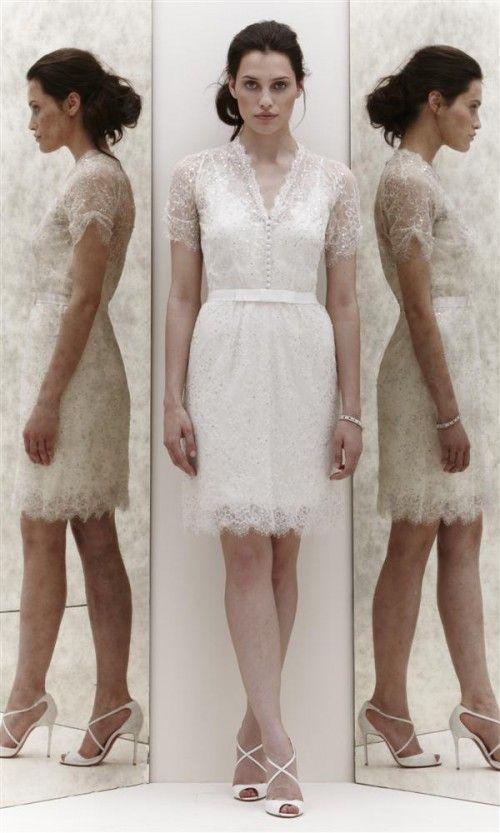 Peinados Recogidos para Vestidos de novia Cortos (10)