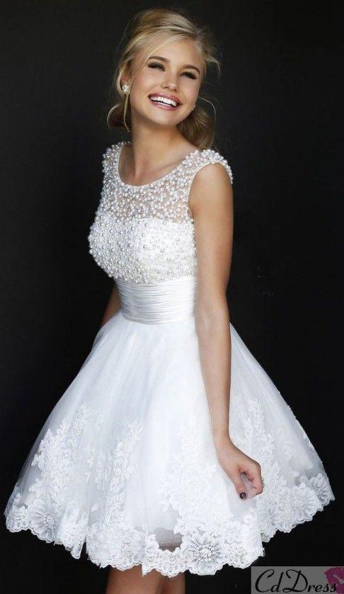 Peinados Recogidos para Vestidos de novia Cortos (11)