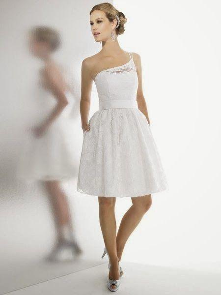 Peinados Recogidos para Vestidos de novia Cortos (12)