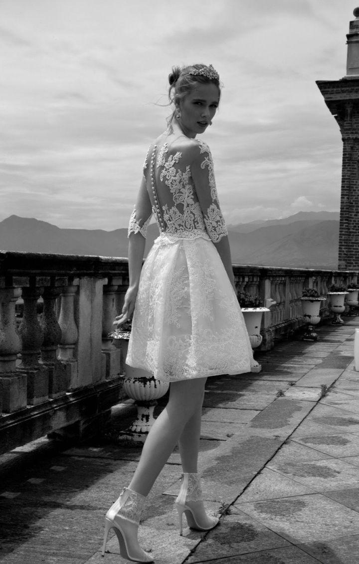 Peinados Recogidos para Vestidos de novia Cortos (13)