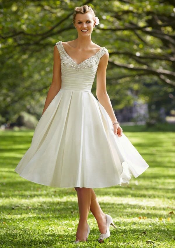 Peinados Recogidos para Vestidos de novia Cortos (3)
