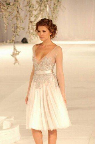 Peinados Recogidos para Vestidos de novia Cortos (4)