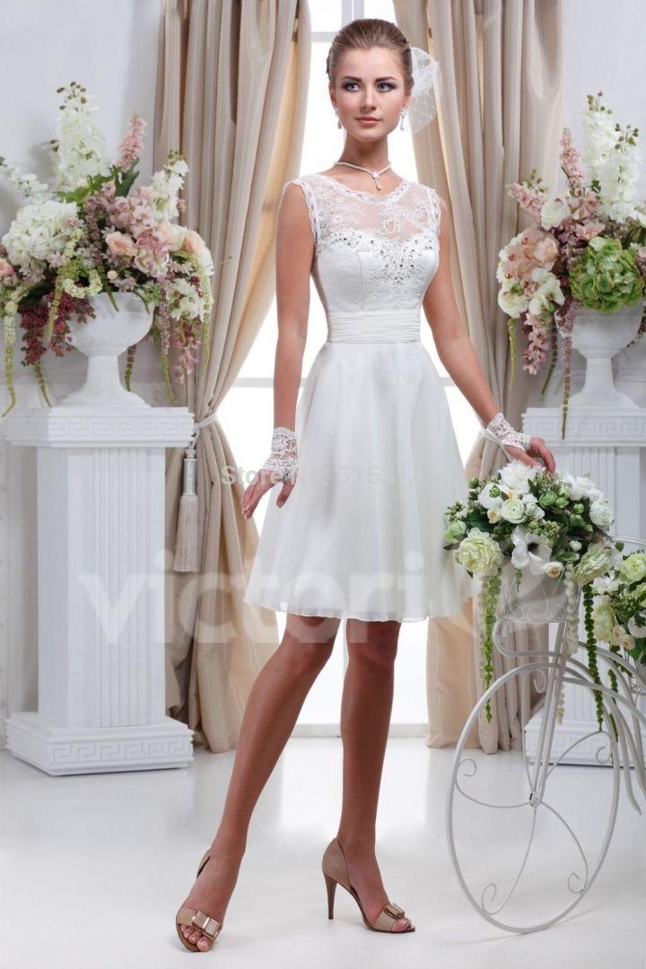 Peinados Recogidos para Vestidos de novia Cortos (7)