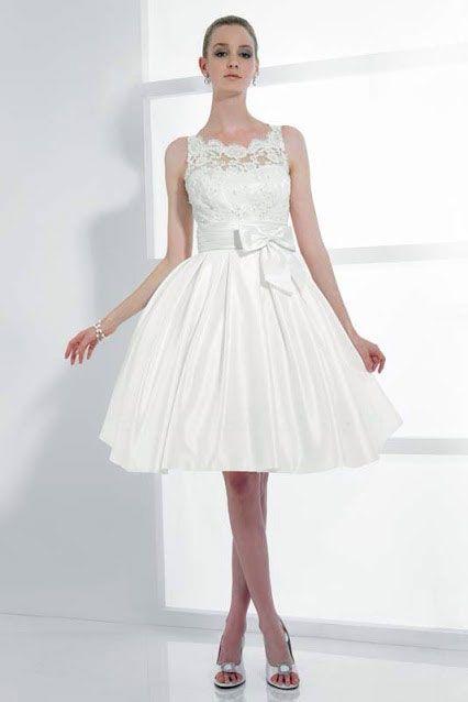 Peinados Recogidos para Vestidos de novia Cortos (9)