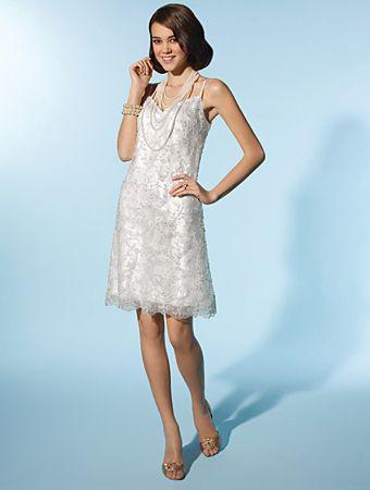 Peinados desenfadados para vestidos de novia Cortos (13)
