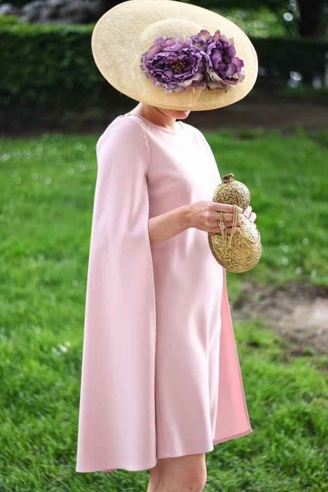 Vestidos de Gala que van bien para peinados clasicos Tonos Rosa