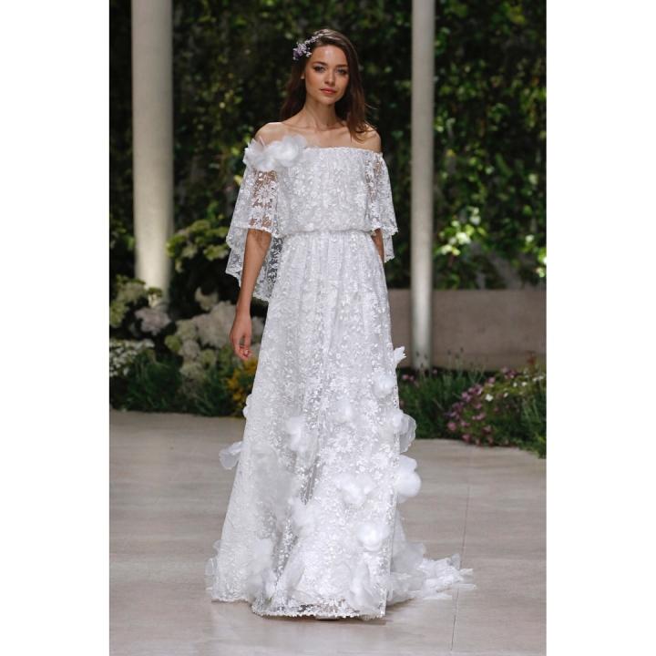 20 peinados y vestidos de novia que te dejaran con la boca abierta (17)