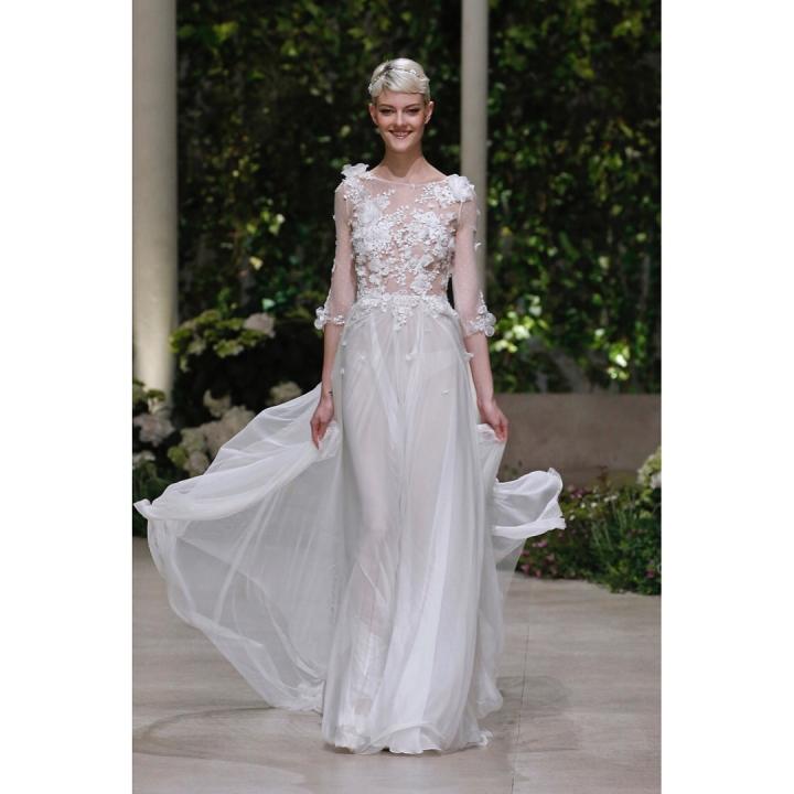 20 peinados y vestidos de novia que te dejaran con la boca abierta (18)