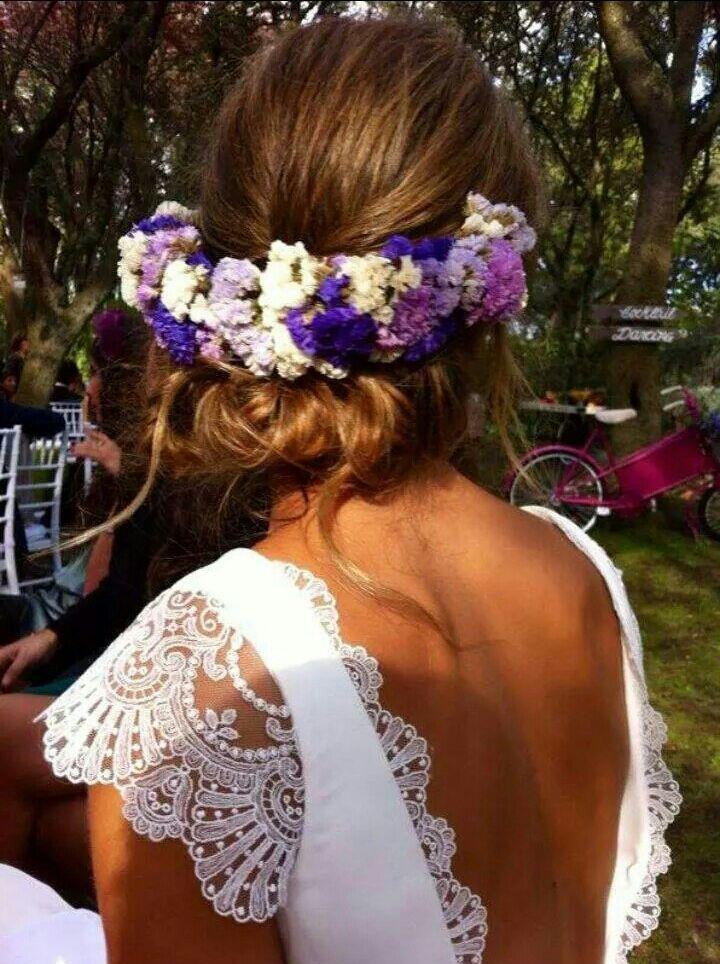 Peinados faciles de mujer para moda de primavera verano con flores