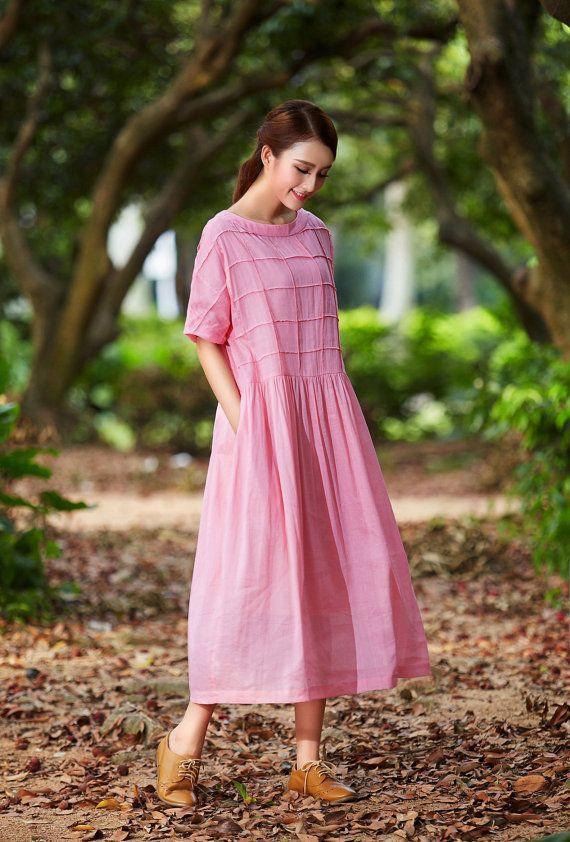 Peinados faciles de mujer para moda de primavera verano rosa