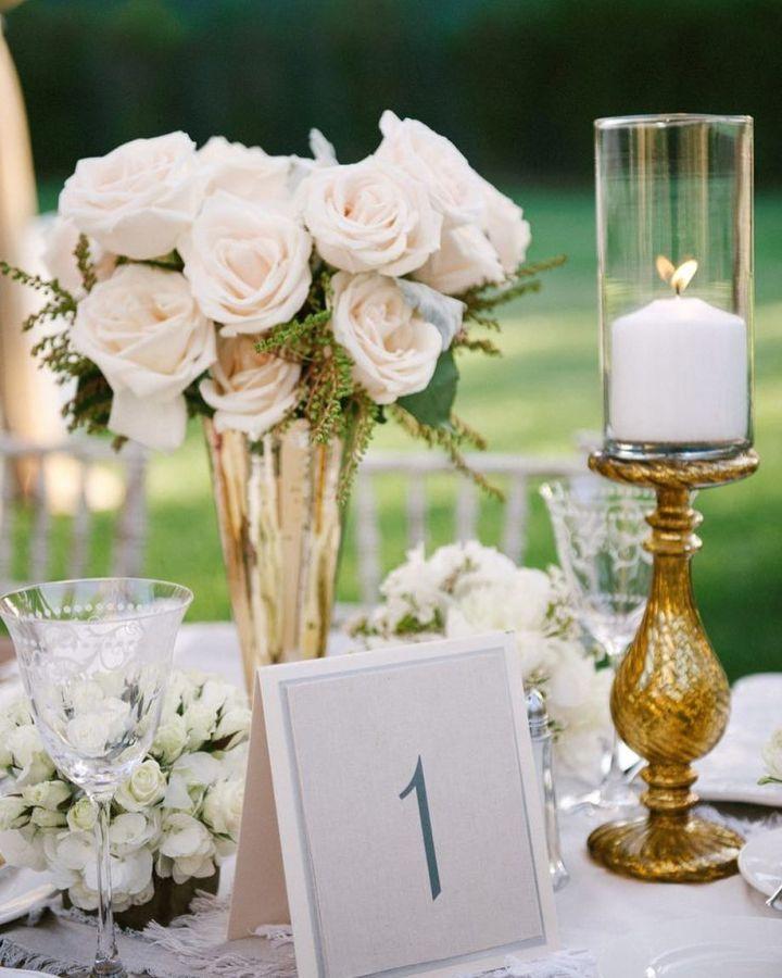 Detalles para centro de mesa que decorarán tu Boda