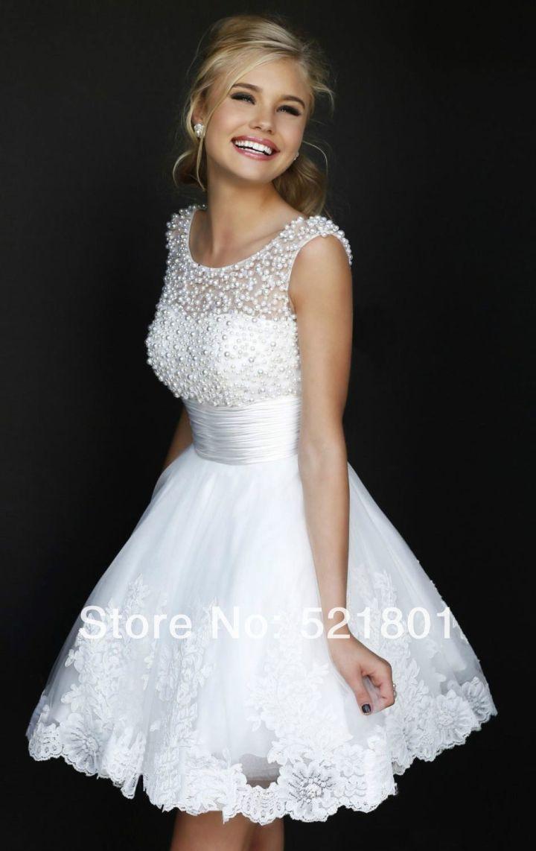 Peinados raya lateral para Vestidos Blancos Midi, Encaje y Fiesta