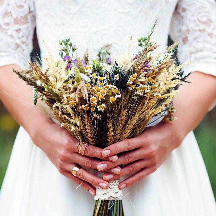 20 Ramos de novias Silvestres y Originales (1)
