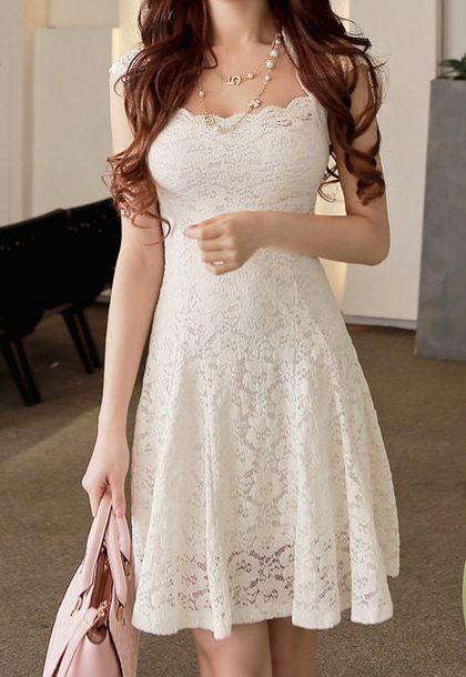 20 Looks Veraniegos con Vestidos blancos Ligeros (1)