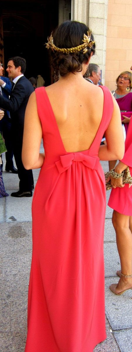 Peinados con vestidos largos para fiestas y Bodas (8)